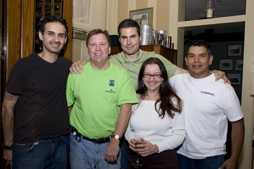 Pratt & D'Angelo Benjamin Moore & O Magazine team