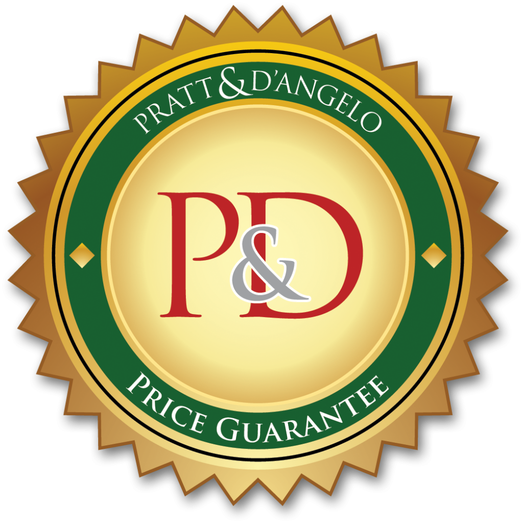 The Pratt & D'Angelo price guarantee