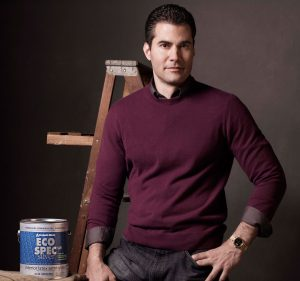 Ralph E. Rossi featured in Benjamin Moore ad campaign